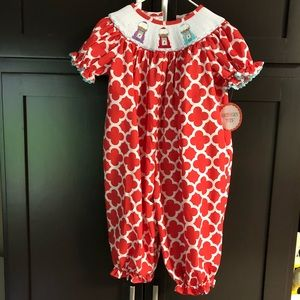1450d343e0 NWT Smocked Bubble